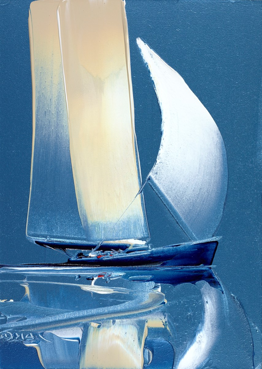 Reflected in the Blue